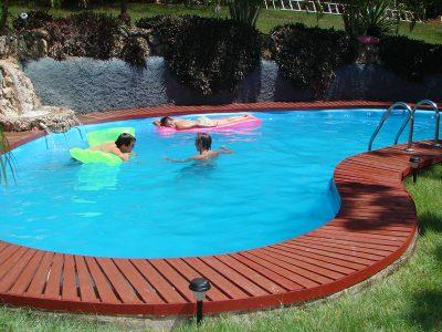 Дачный бассейн своими руками