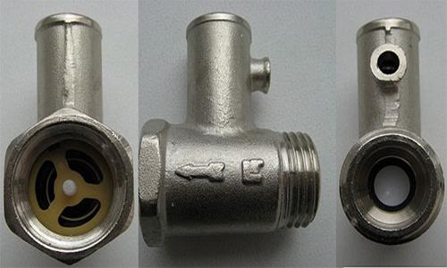 Предохранительный клапан водонагревателя