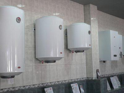 Разные виды водонагревателей