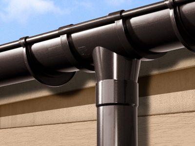 Водосток из труб для канализации