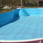 Как делается бассейн из полипропилена своими руками