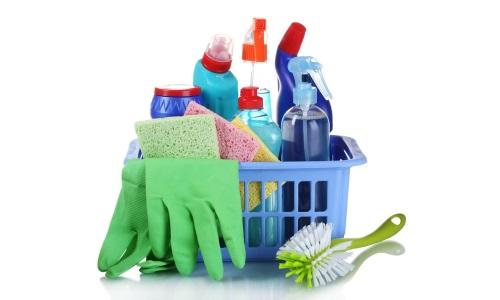 Бытовая химия для чистки ванной