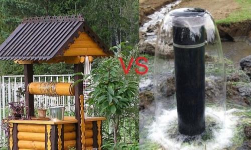 Выбор между колодцем и скважиной для участка