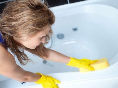 Способы очистки ванны
