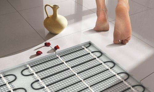 Популярность электрических теплых полов для различных помещений