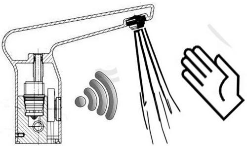 Сенсорный смеситель для кухни
