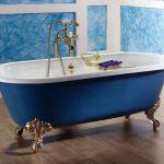 Какие лучше брать среди чугунных ванн
