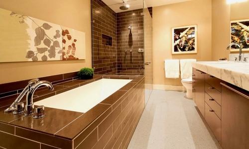 Встроенная чугунная ванна