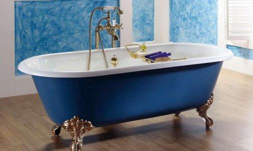 Стандартная чугунная ванна