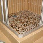 Как сделать душ из плитки