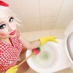 Как очистить дно унитаза