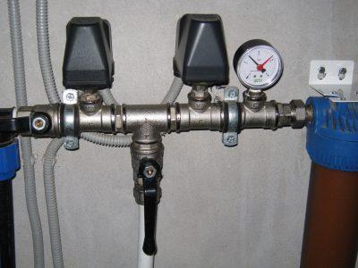 Система датчиков давления воды