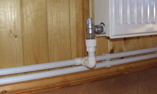 Система с двухтрубным отоплением