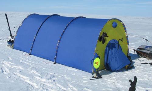 Выбор теплообменника для зимней палатки