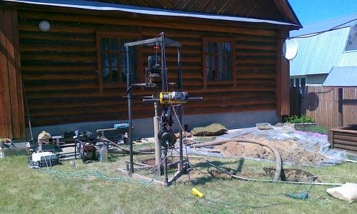 Гидробурение на скважину