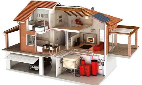 Возможность разного уровня отопления в доме с помощью коллектора