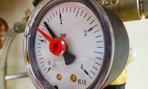 Контроль давления во время опрессовки