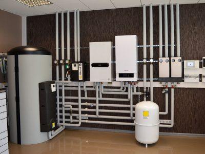 Газовое отопление дома