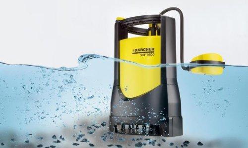Использование насосов для откачки воды из подвала