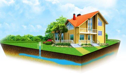 Получение воды для дома из скважины