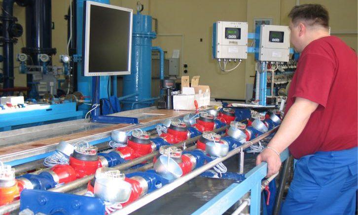 Производство и проверка счетчиков