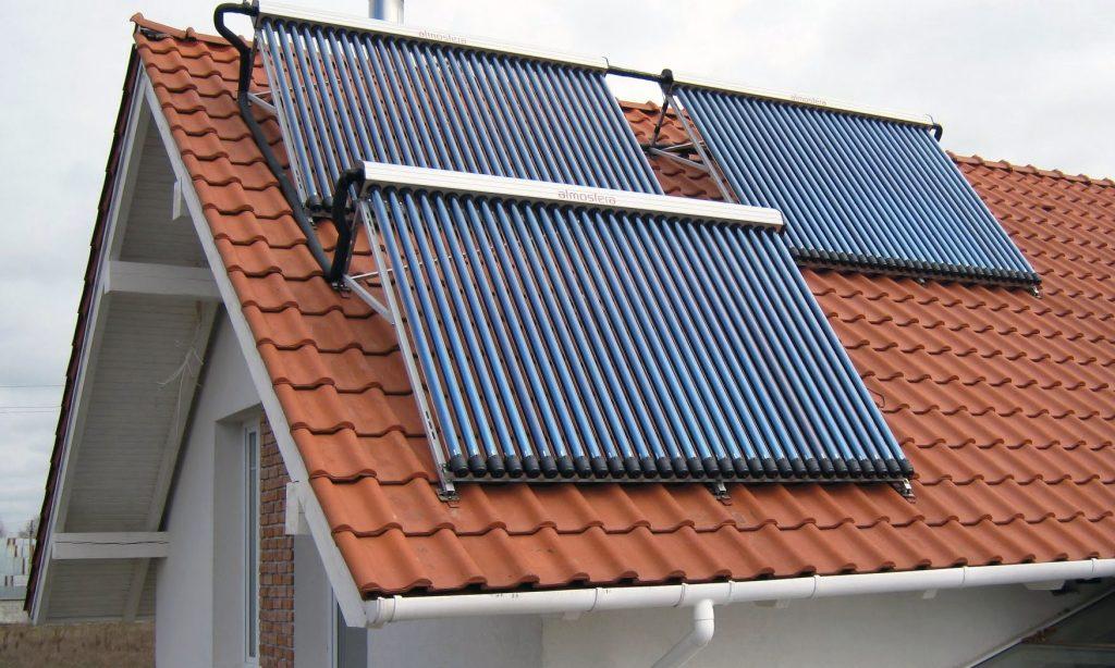 Применение солнечных коллекторов