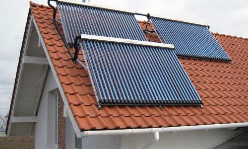 Отопление дома при помощи солнечных коллекторов