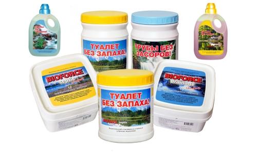Выбор бактерий для выгребных ям