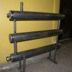 Радиаторы отопления с регистрами из профильной трубы